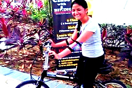 Children Cycling Class Singapore