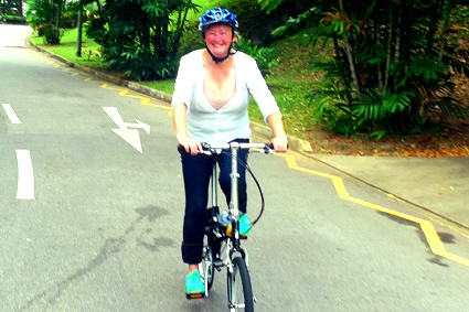 Adult Cycling Class Singapore